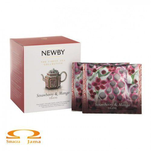 Herbata newby finest tea collection strawberry & mango 37,5g marki Newby teas of london