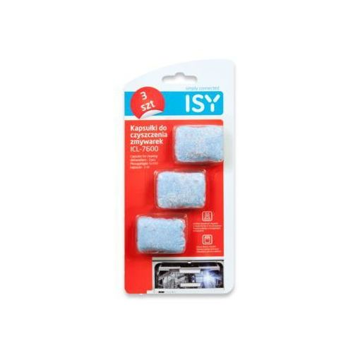 Tabletki ISY do czyszczenia zmywarki 3 szt. (4049011143753)