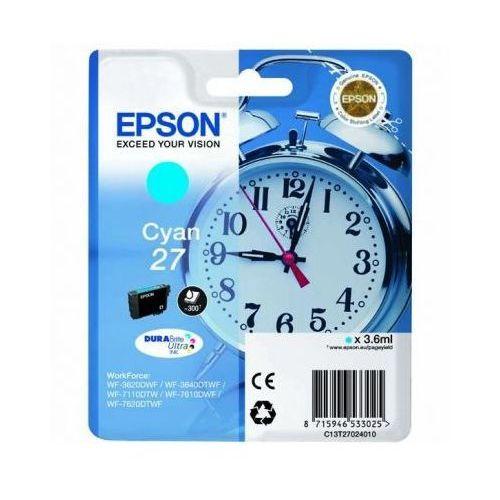 Epson Tusz oryginalny t2702 błękitny do  workforce wf-7110 dtw - darmowa dostawa w 24h