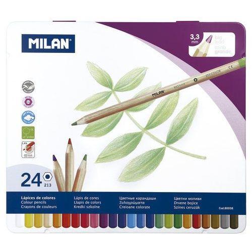 Milan Kredki ołówkowe 24 kolory