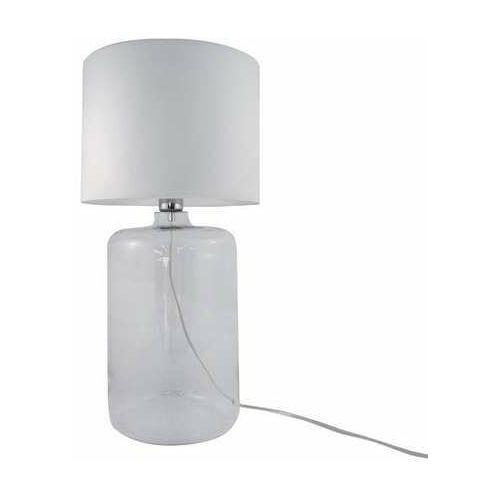 Zuma line amarsa 5506wh lampa stołowa 1x40w e27 biała/transparentna