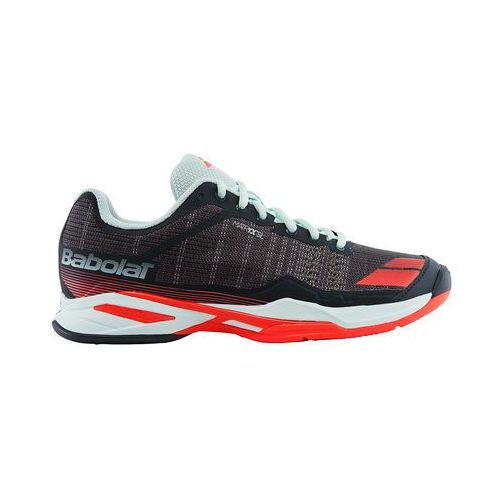 Babolat  jet team clay woman - grey/red/blue (3324921501970)