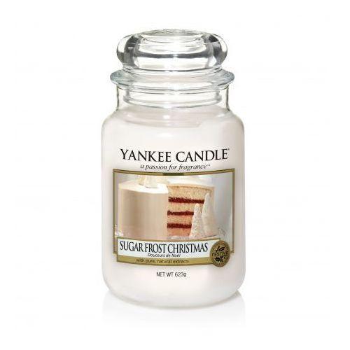 Yankee Candle Sugar Frost Christmas duża świeca zapachowa 623g, 5038581051031