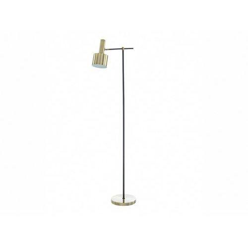 Vente-unique Lampa podłogowa anticaire – żelazo – 37 × 25 × 150 cm (dł. × szer. × wys.) – kolor złoty