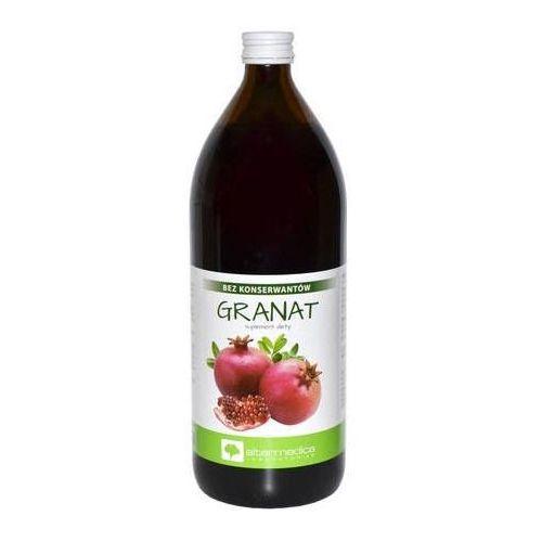 Granat sok bez konserwantów 1000ml marki Altermedica