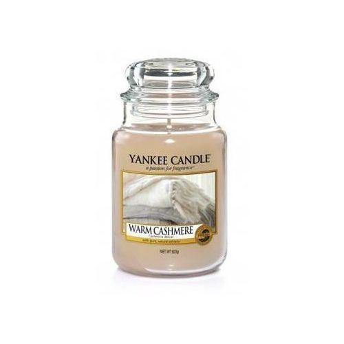 Świeca zapachowa duży słój Warm Cashmere 623g, 5038581016542