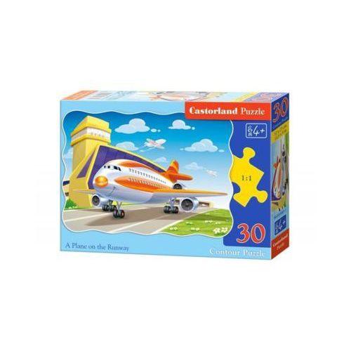 30 ELEMENTÓW Samolot na pasie startowym (5904438003587)