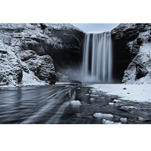 Fototapeta na ścianę lodowy wodospad fp 5748 marki Wally - piękno dekoracji