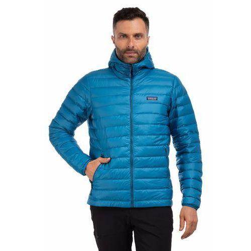 Kurtka down sweater hoody - balkan blue marki Patagonia