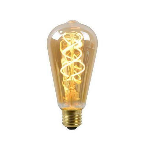 Lucide 49034/05/62 żarówka dekoracyjna 5W E27 LED 2200K ST64 bursztynowa