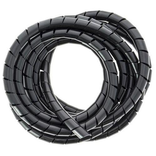 Spirala maskująca Diall 2,5 m 4 mm2 czarna, KIN793236