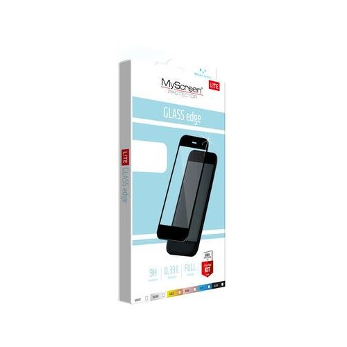 Myscreen protector Szkło lite edge do huawei p10 lite czarny (5901924942023)