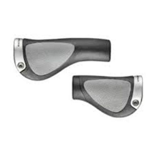 gp1 chwyt do kierownicy rohloff/nexus czarny/srebrny chwyty ergonomiczne marki Ergon