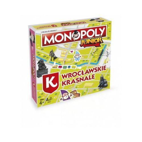 Monopoly Junior Wrocławskie Krasnale - DARMOWA DOSTAWA OD 199 ZŁ!!!