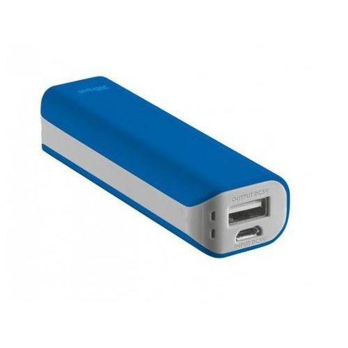 Trust urbanrevolt primo 2200 portable charger - blue >> bogata oferta - szybka wysyłka - promocje - darmowy transport od 99 zł!