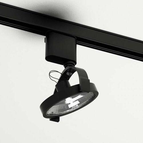 Reflektorowa lampa sufitowa sakura 6606/gu10/cz metalowa oprawa do systemu szynowego 3-fazowego czarna marki Shilo
