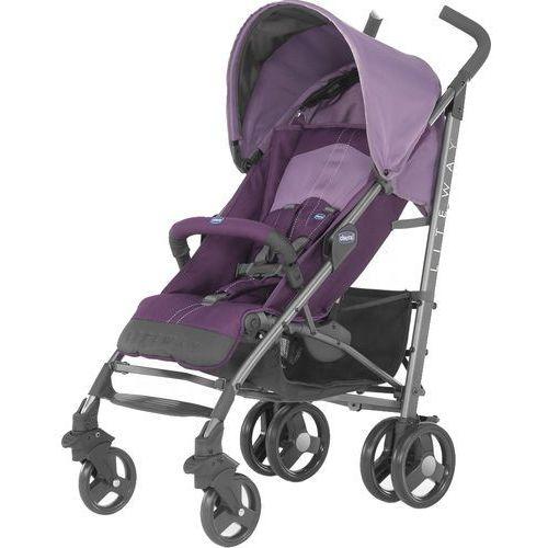 Chicco Wózek LiteWay Top z pałąkiem Purple - DARMOWA DOSTAWA!!! (8058664057368)