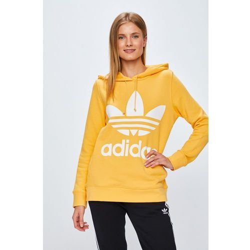 Adidas originals - bluza trefoil hoodie