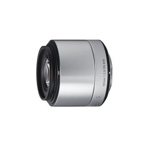 a 60mm f/2.8 dn srebrny olympus - produkt w magazynie - szybka wysyłka! marki Sigma