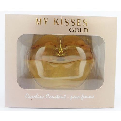 Perfumy MY KISSES GOLD usta 100ML frezja, róża, jaśmin, cedr ()