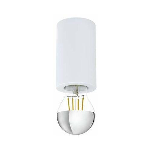 Eglo Saluzzo 99066 plafon lampa sufitowa 1x40W E27 biały, kolor Biały