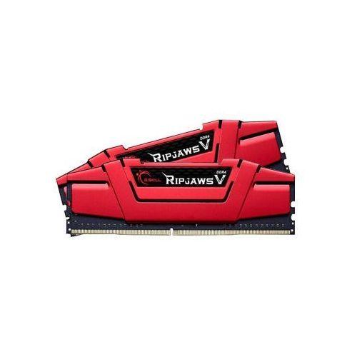 G.SKILL 8192MB 2666MHz RipjawsV CL15 RED (2x4096)