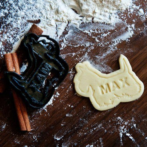 Terier Szkocki - personalizowana foremka 3D do ciastek - Foremka 3D