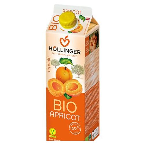 Nektar morelowy bio 1 l - hollinger marki Hollinger (soki, napoje)