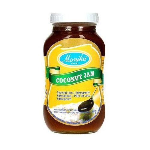Dżem kokosowy z brązowym cukrem 340g - marki Monika brand