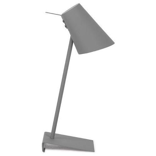 It's About RoMi Lampa stołowa Cardiff szara 54cmx20x15cm CARDIFF/T/DG
