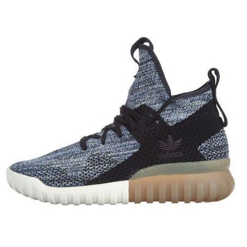 originals tubular x primeknit tenisówki czarny niebieski 40 2/3 marki Adidas