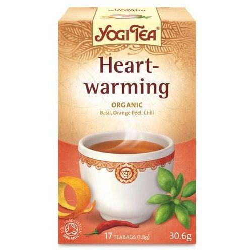 Herbata Rozgrzewająca BIO (Yogi Tea) 15 saszetek po 2g, kup u jednego z partnerów