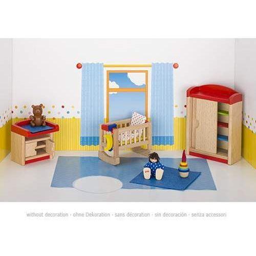 Meble dla lalek. Pokój dziecka z zabawkami z kategorii Pozostałe