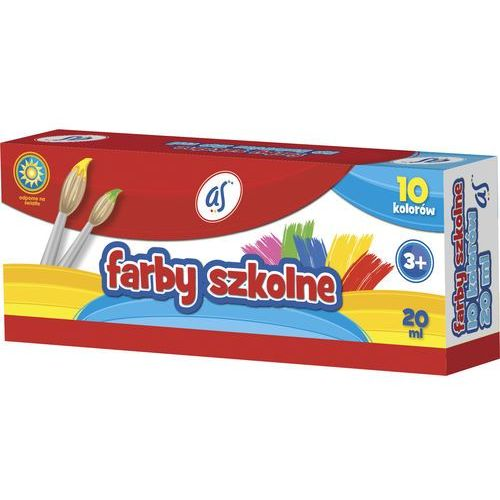 Astra Farby szkolne 10 kol. 20ml as/ 301215008 (5901137087467)