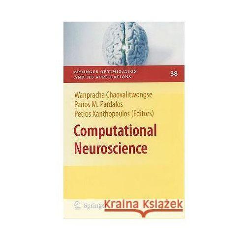 Computational Neuroscience, Springer Verlag