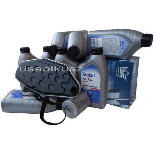 Filtry oraz olej Mobil ATF-320 skrzyni 45RFE Jeep Wrangler 4,0 2002-2005 - sprawdź w wybranym sklepie