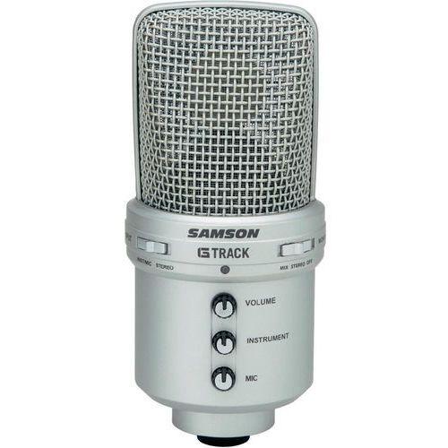 Mikrofon pojemnościowy Samson G-Track Studio, USB