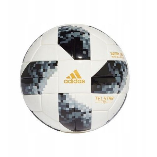 Piłka nożna russia 2018 telstar jr 350 r4 ce8145 marki Adidas