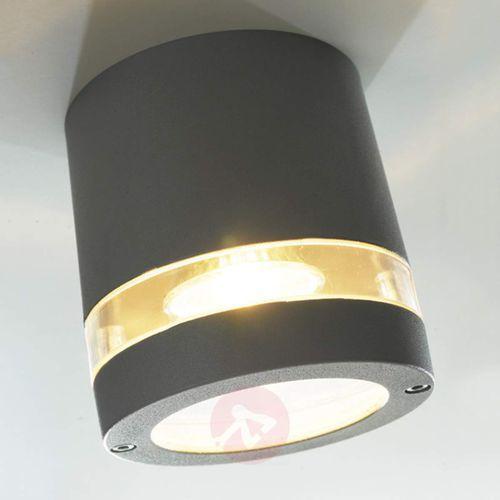 Oświetlenie lutec by eco light Lutec focus zewnętrzny kinkiet antracytowy, 1-punktowy (4260084420743)