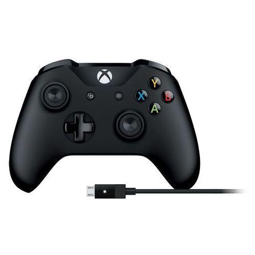 Microsoft Pad gamepad kontroler xbox one + kabel pc