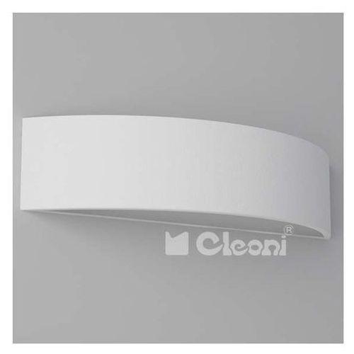 Kinkiet LAMPA ścienna ABA 40 1267KB1AE1+kolor Cleoni metalowa OPRAWA do łazienki