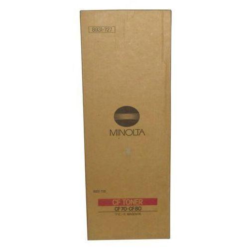 Wyprzedaż Oryginał Toner Konica Minolta 8931727 do Minolta CF70 CF80   375g   magenta