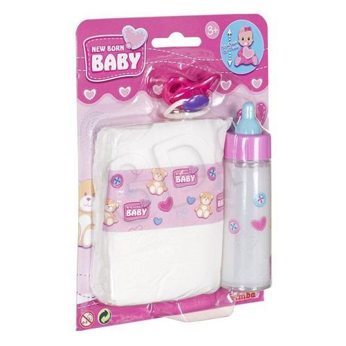 Mini baby born - pierwszy zestaw do pielęgnacji marki Simba