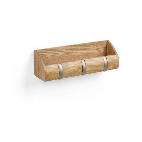 Umbra - organizer ścienny cubby mini - drewniany - jasne drewno