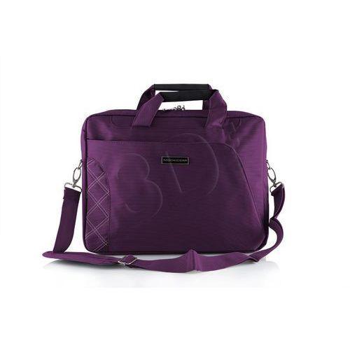 Modecom torba do laptopa dla kobiet greenwitch pur- produkt w magazynie! ekspresowa wysyłka! (5906190448033)