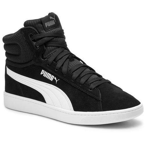 Sneakersy PUMA - Vikky V2 Mid 369867 01 Puma Black/White/Silver/Pink, kolor czarny