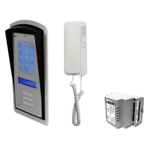 Zestaw jednorodzinny panel domofonowy wielorodzinny z szyfratorem RADBIT BRC10 MOD, ZR12318