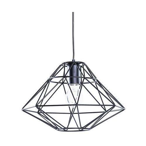 Beliani Lampa czarna - sufitowa - żyrandol - lampa wisząca - guam (7105279347825)