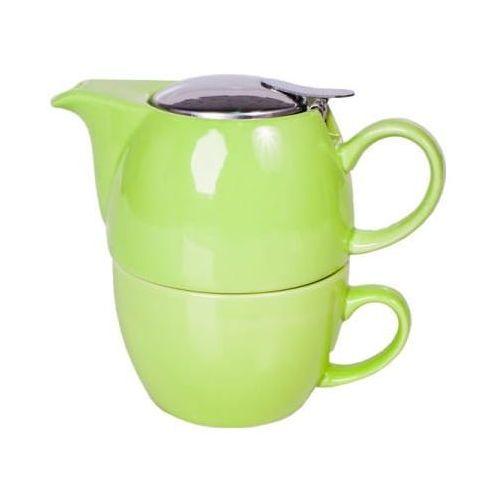 """Mount Everest Tea zestaw """"Tea4One"""" 450 ml zielony, 1607"""