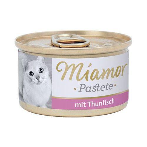katzenzarte fleischpastete - pasztet mięsny smak: tuńczyk 12x85g marki Miamor